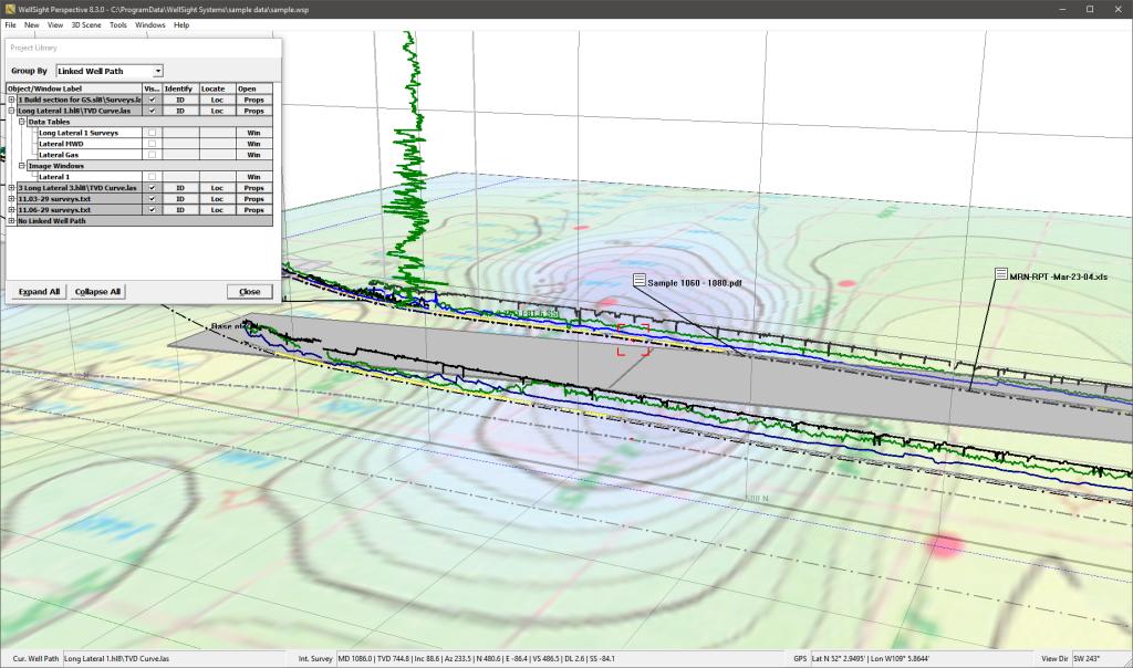 Perspective Geosteering